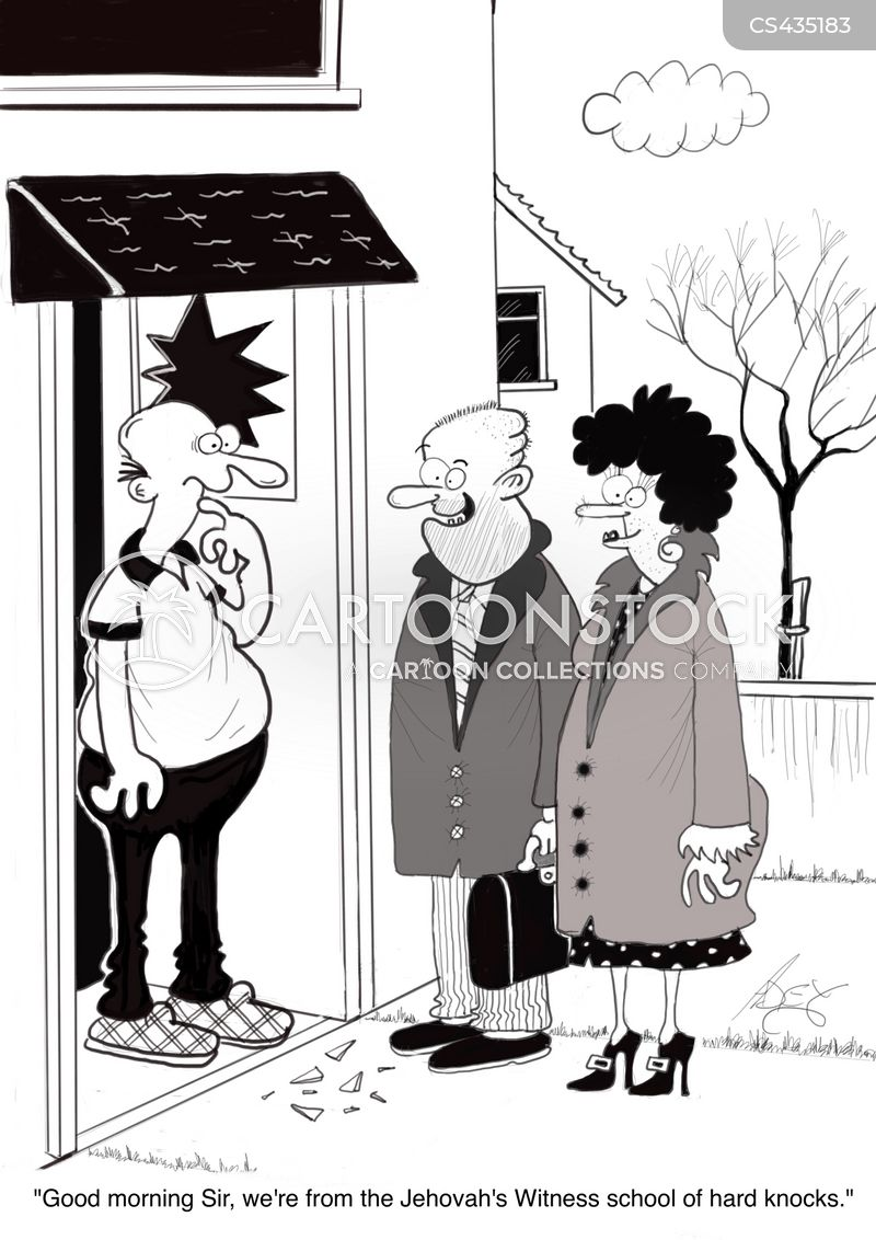 canvasser cartoon