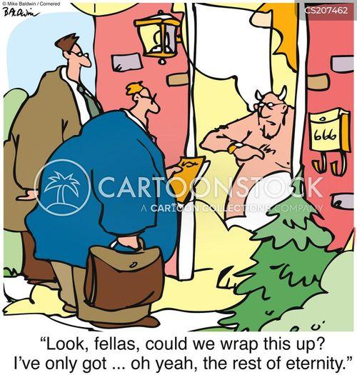 sales men cartoon