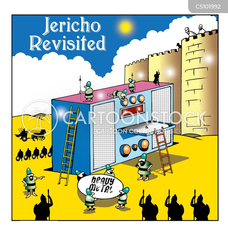 Jericho cartoons, Jericho cartoon, funny, Jericho picture, Jericho pictures, Jericho image, Jericho images, Jericho illustration, Jericho illustrations