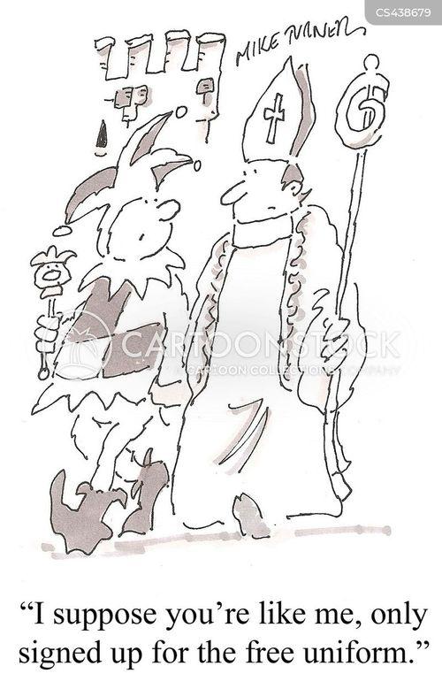 royal courts cartoon