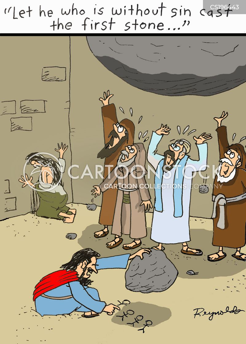 Funny Bible Quotes Classy Bible Quotes Cartoons And Comics Funny Pictures From CartoonStock