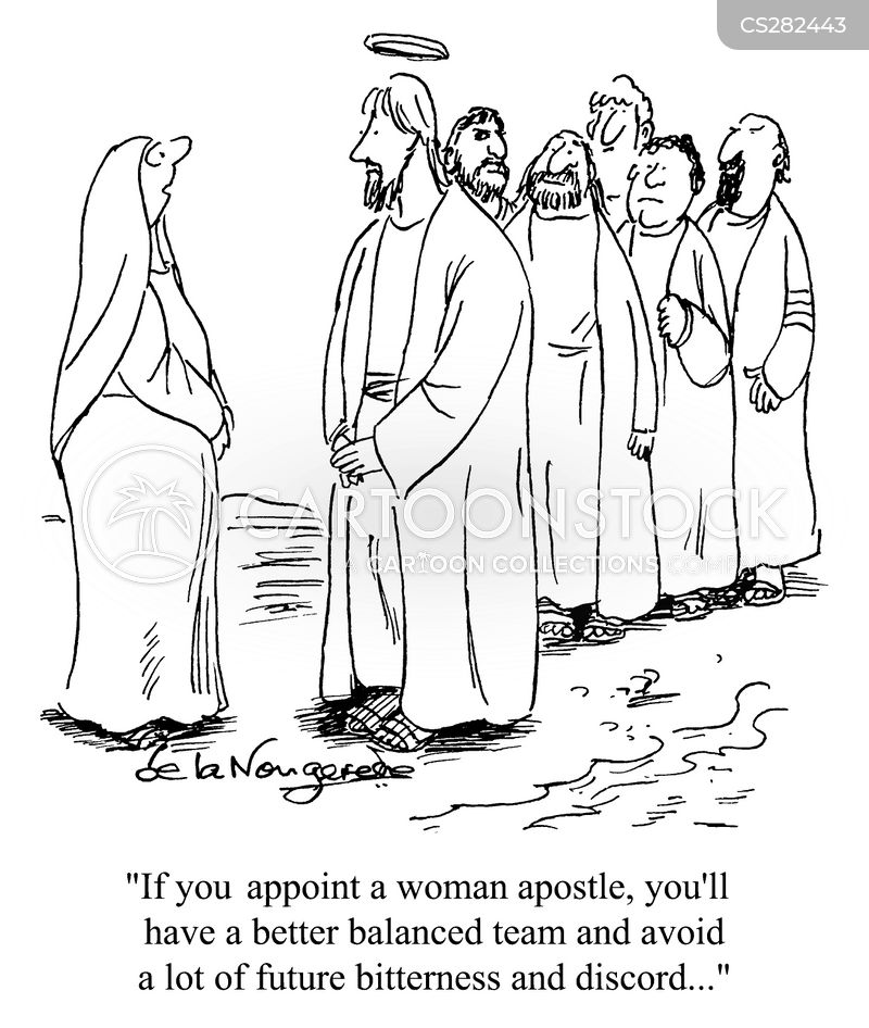 apostle cartoon