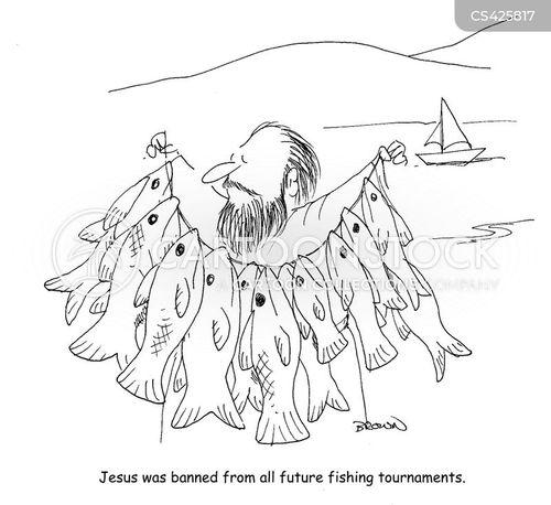 fishing tournament cartoon