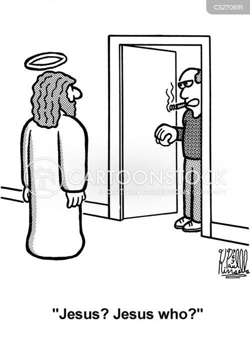 saviours cartoon