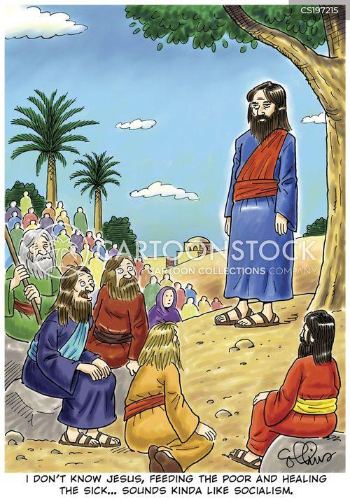 preach cartoon