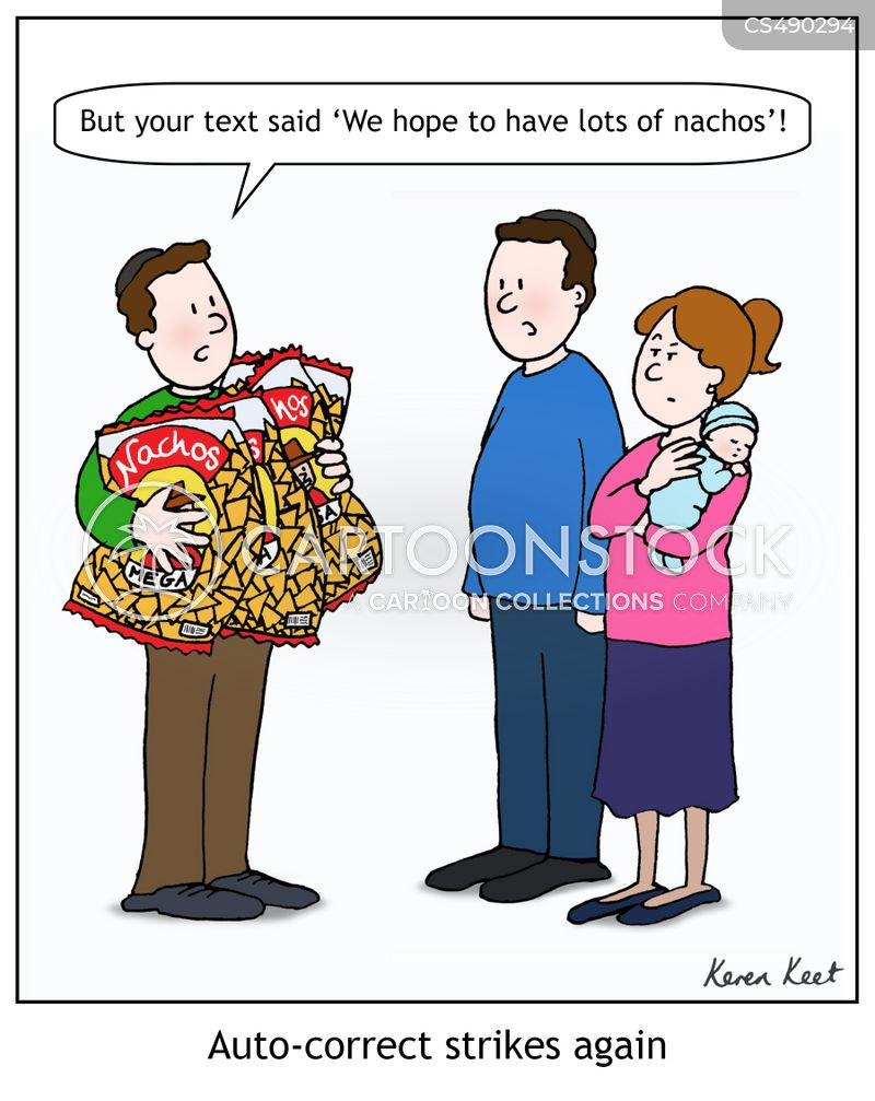 nachos cartoon