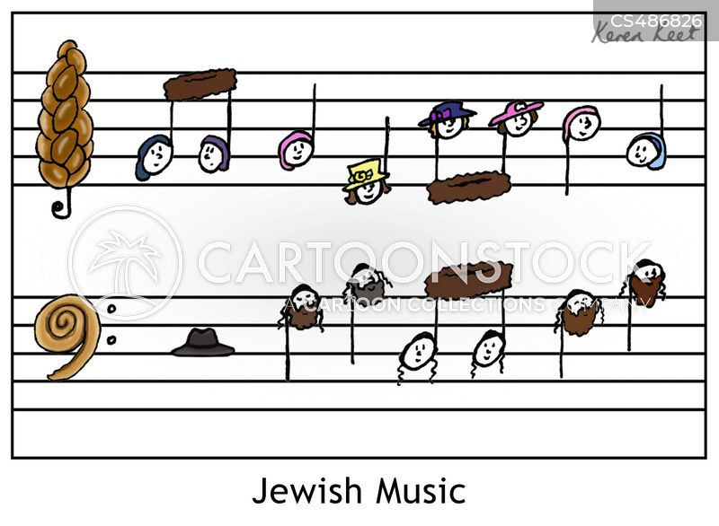 jewish culture cartoon
