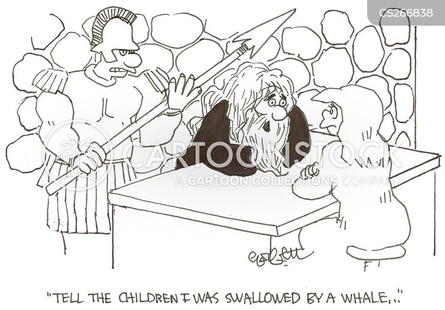 jonah and the whale cartoon