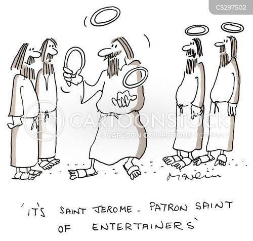 historic figure cartoon