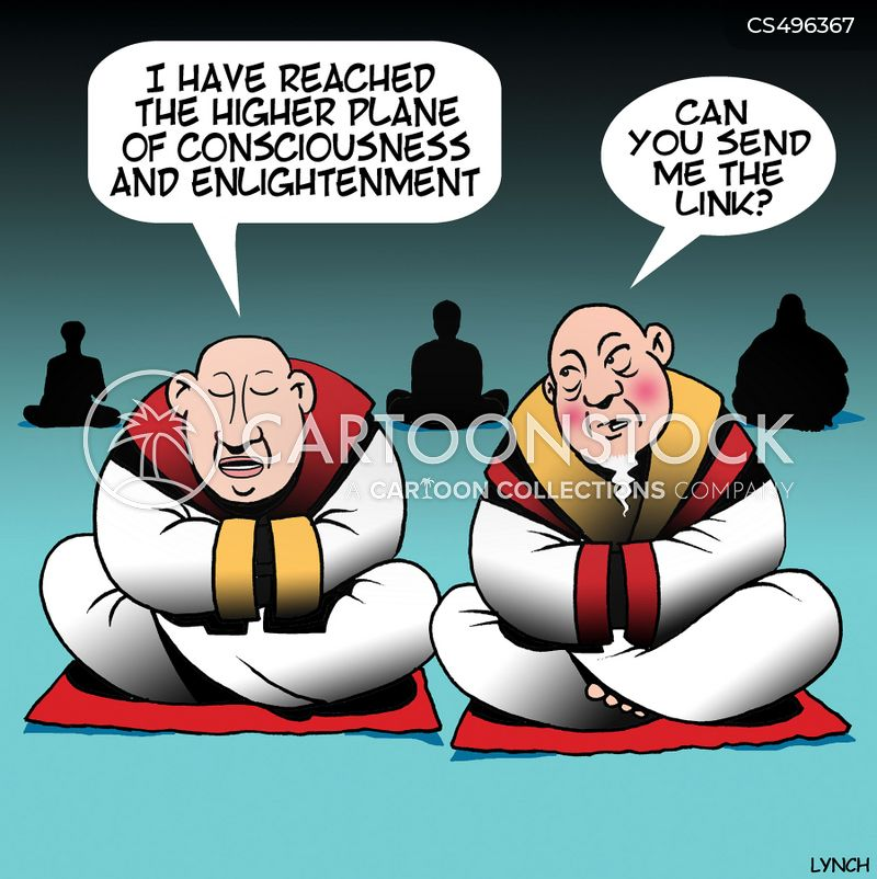higher consciousness cartoon