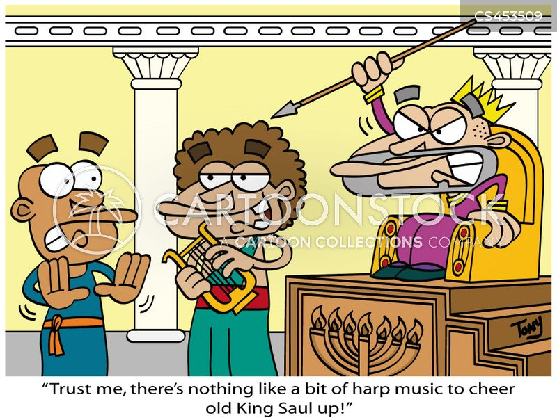 book of samuel cartoon
