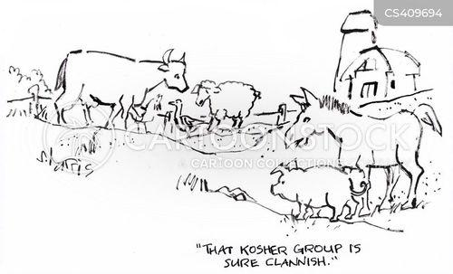 cliques cartoon