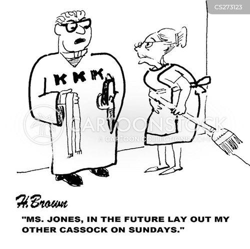cassock cartoon