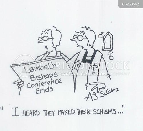 schisms cartoon
