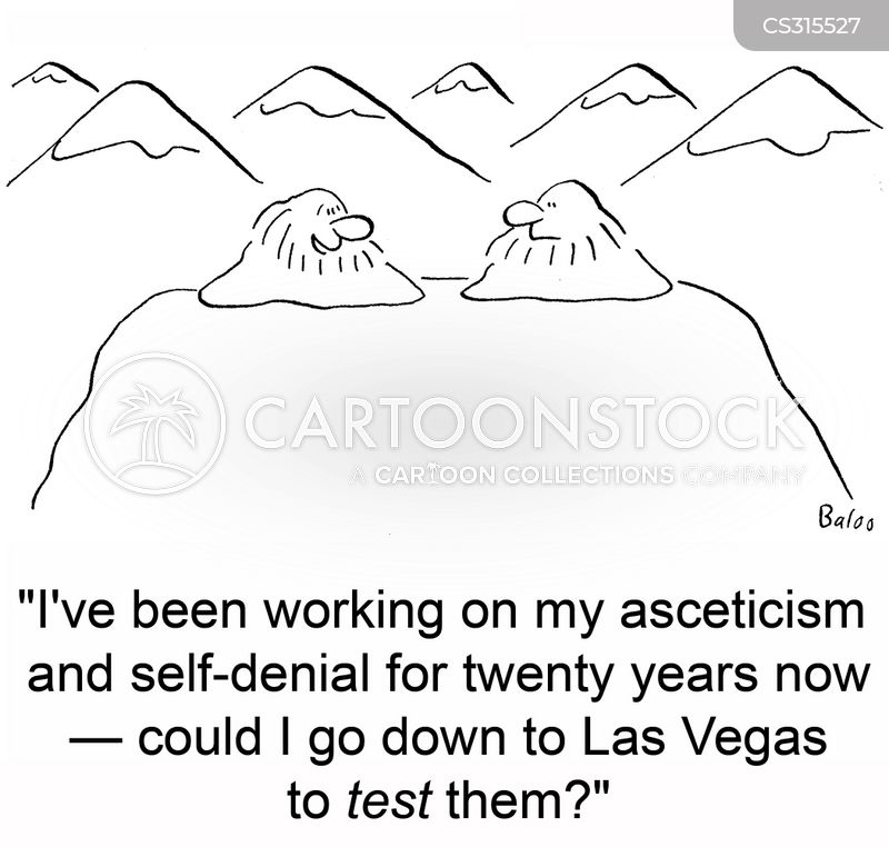 self denial cartoon
