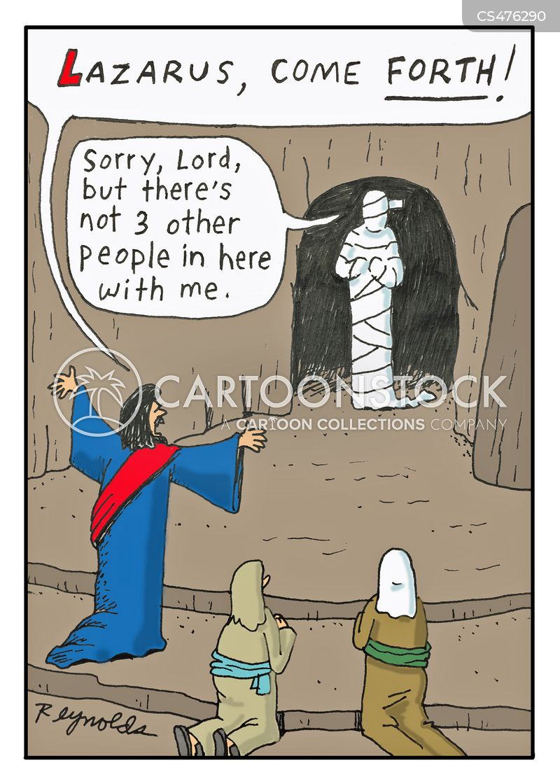 Lazarus Of Bethany Cartoons and Comics - funny pictures from
