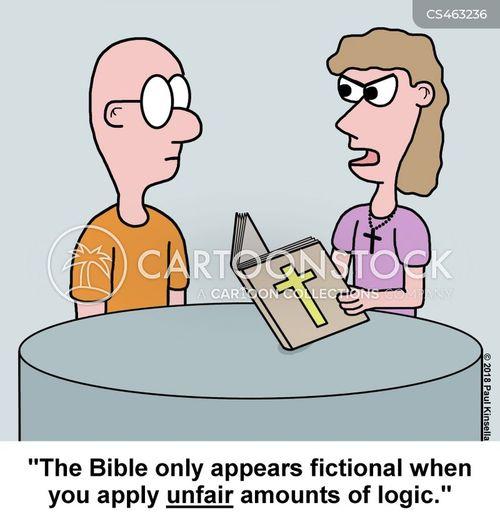biblical quotes cartoon