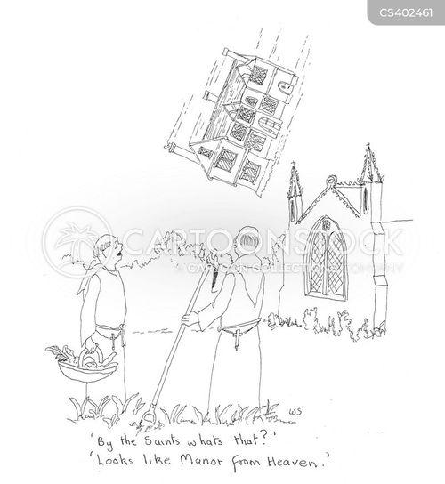 heavenly gift cartoon