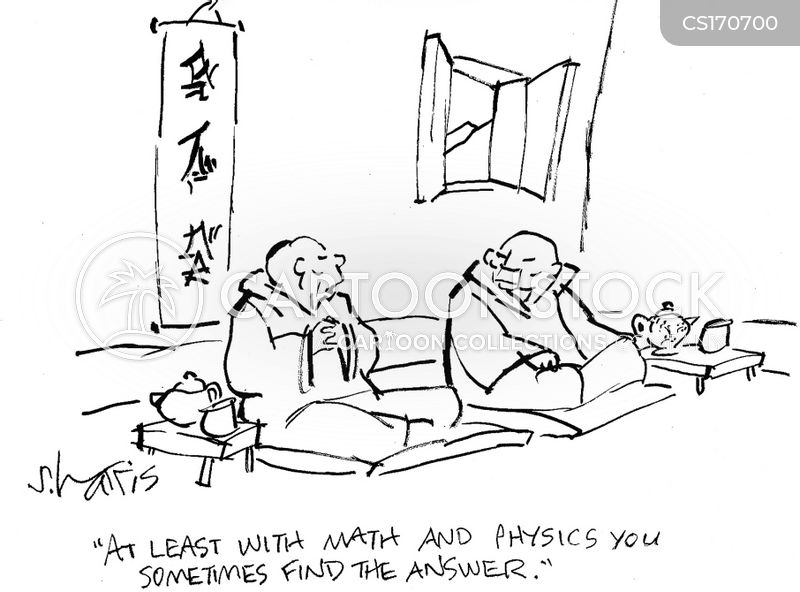 the meaning of life cartoon