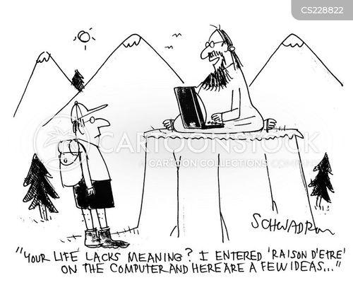 live life to the full cartoon