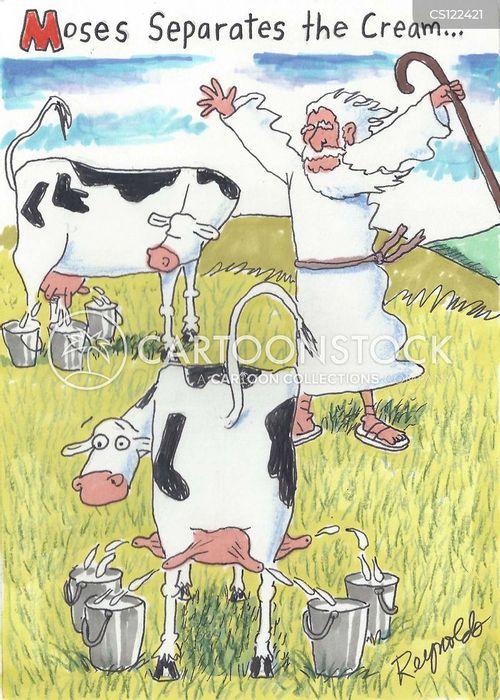 milker cartoon