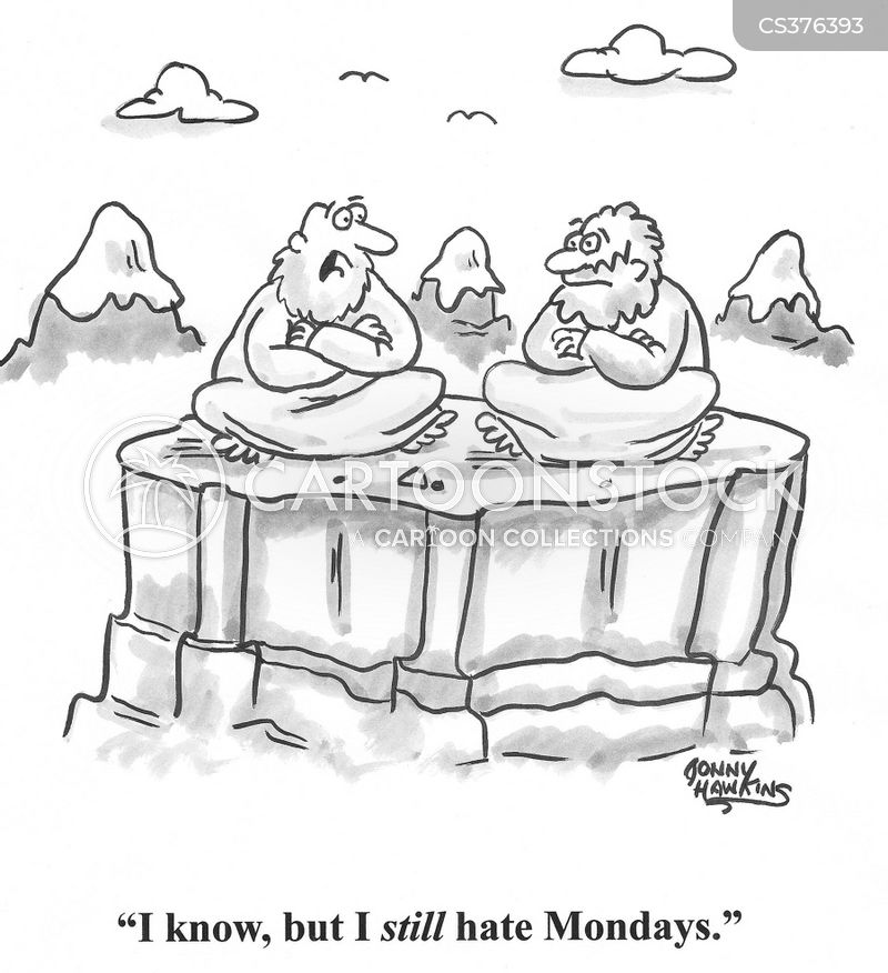 mountaintop gurus cartoon