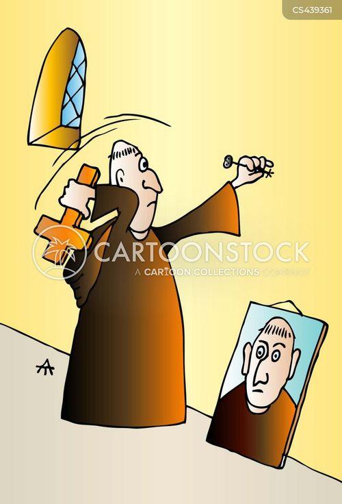 crucifixes cartoon