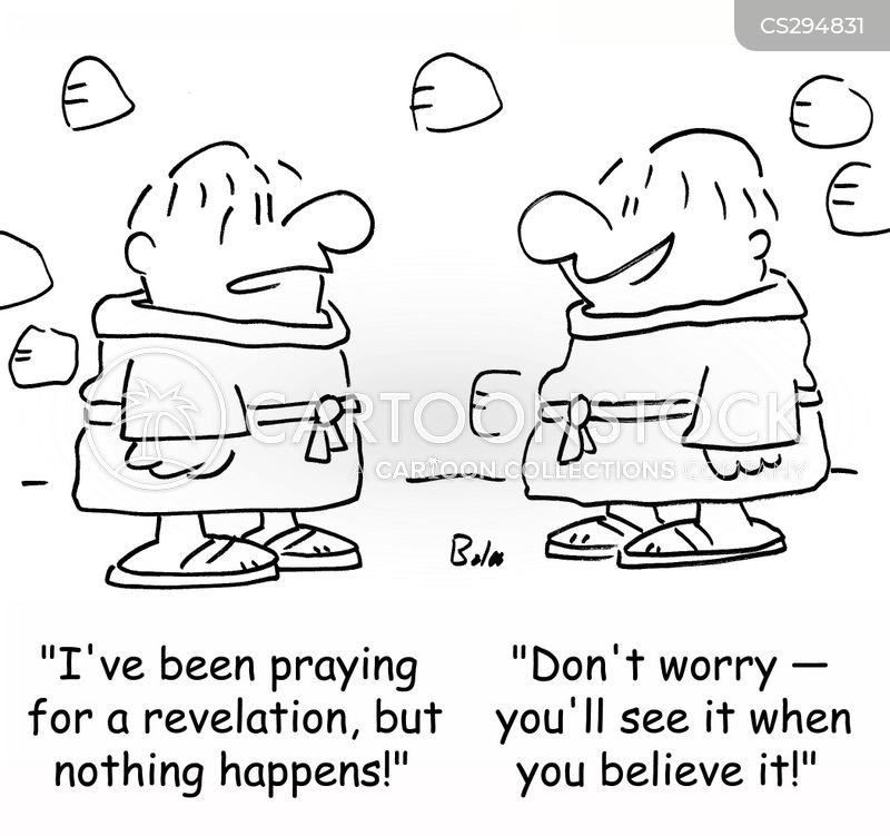spiritual orders cartoon