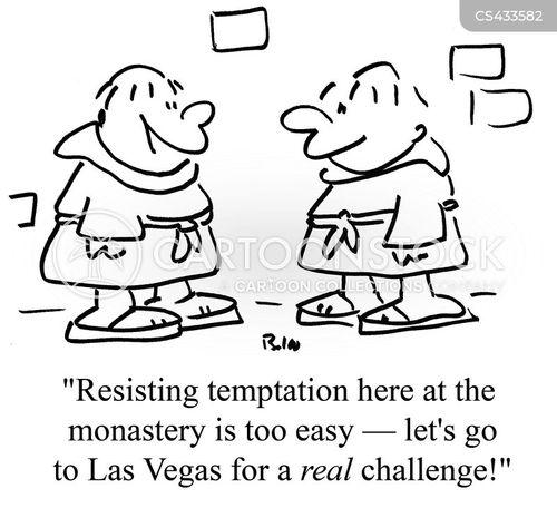 spiritual test cartoon