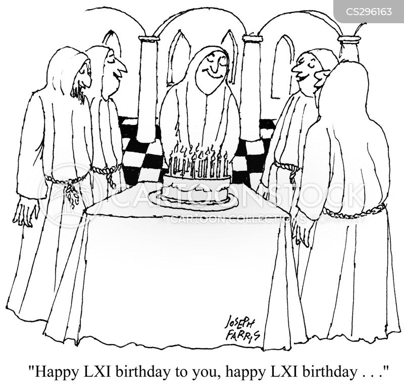 monastic cartoon