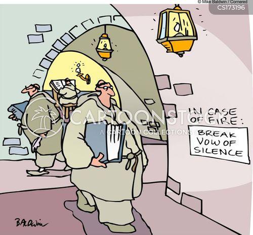 monastery cartoon