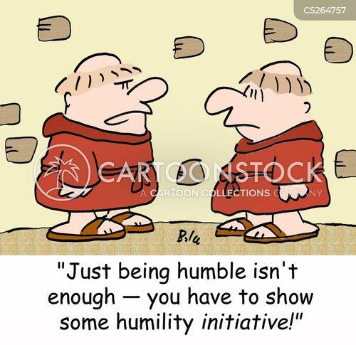 humbleness cartoon