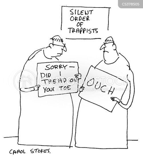 monastries cartoon