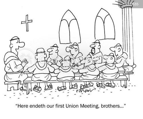 first meetings cartoon