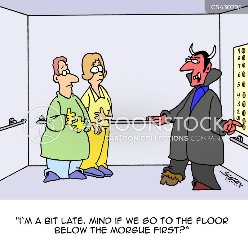 hospital workers cartoon