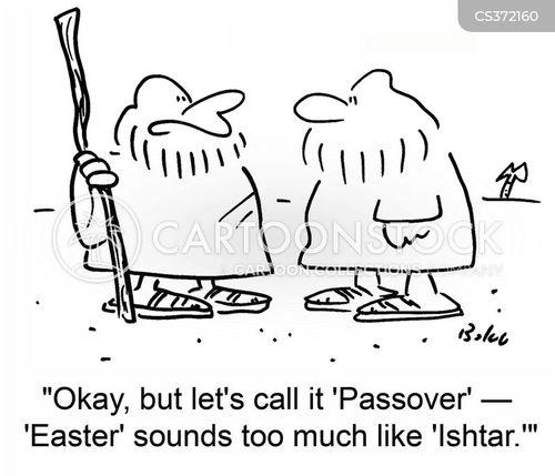 religious holiday cartoon