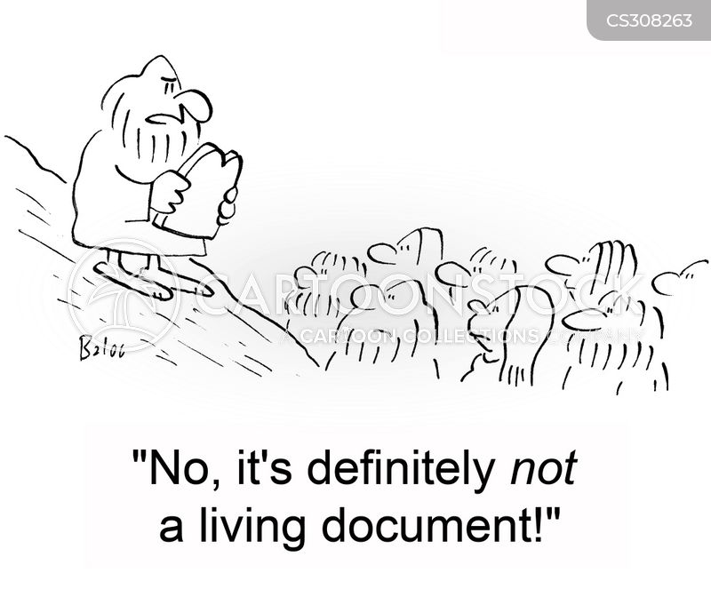 Living Documents cartoons, Living Documents cartoon, funny, Living Documents picture, Living Documents pictures, Living Documents image, Living Documents images, Living Documents illustration, Living Documents illustrations