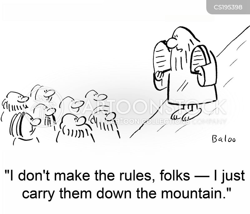 make the rules cartoon