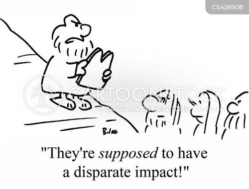 disparate cartoon