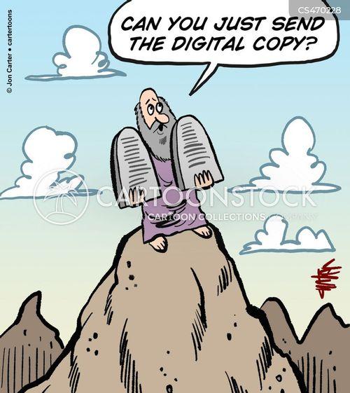 digital copy cartoon