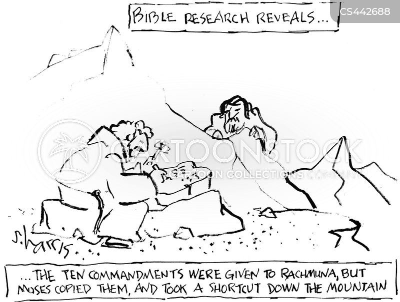 bible history cartoon