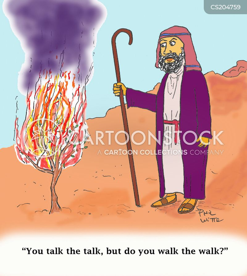 bible characters cartoon