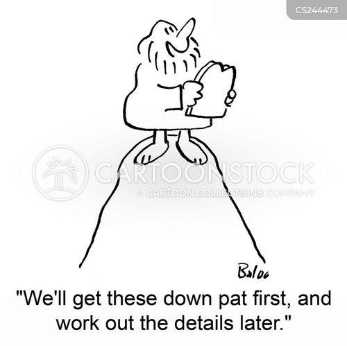 down pat cartoon