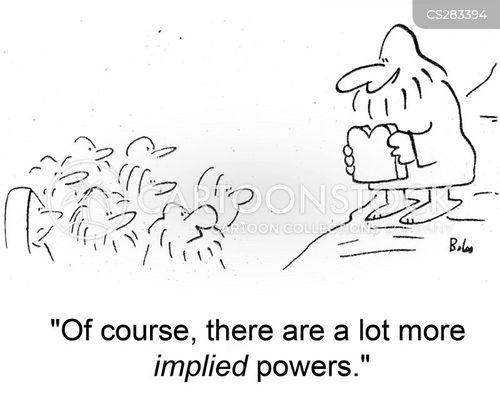 implied cartoon
