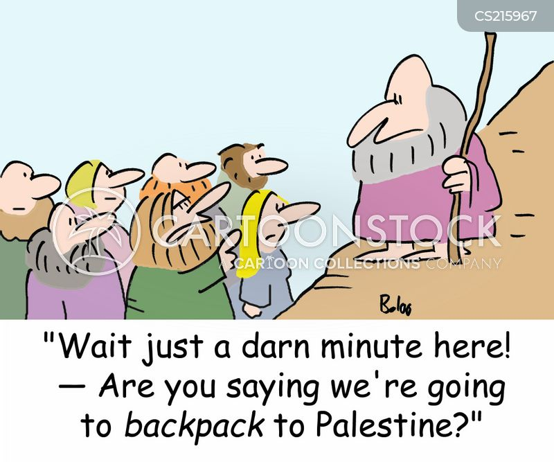 holy land cartoon