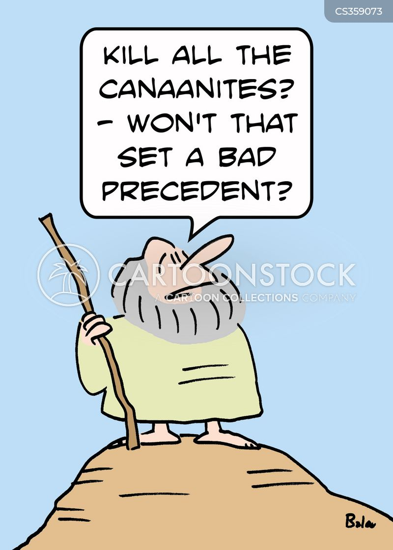 canaanites cartoon