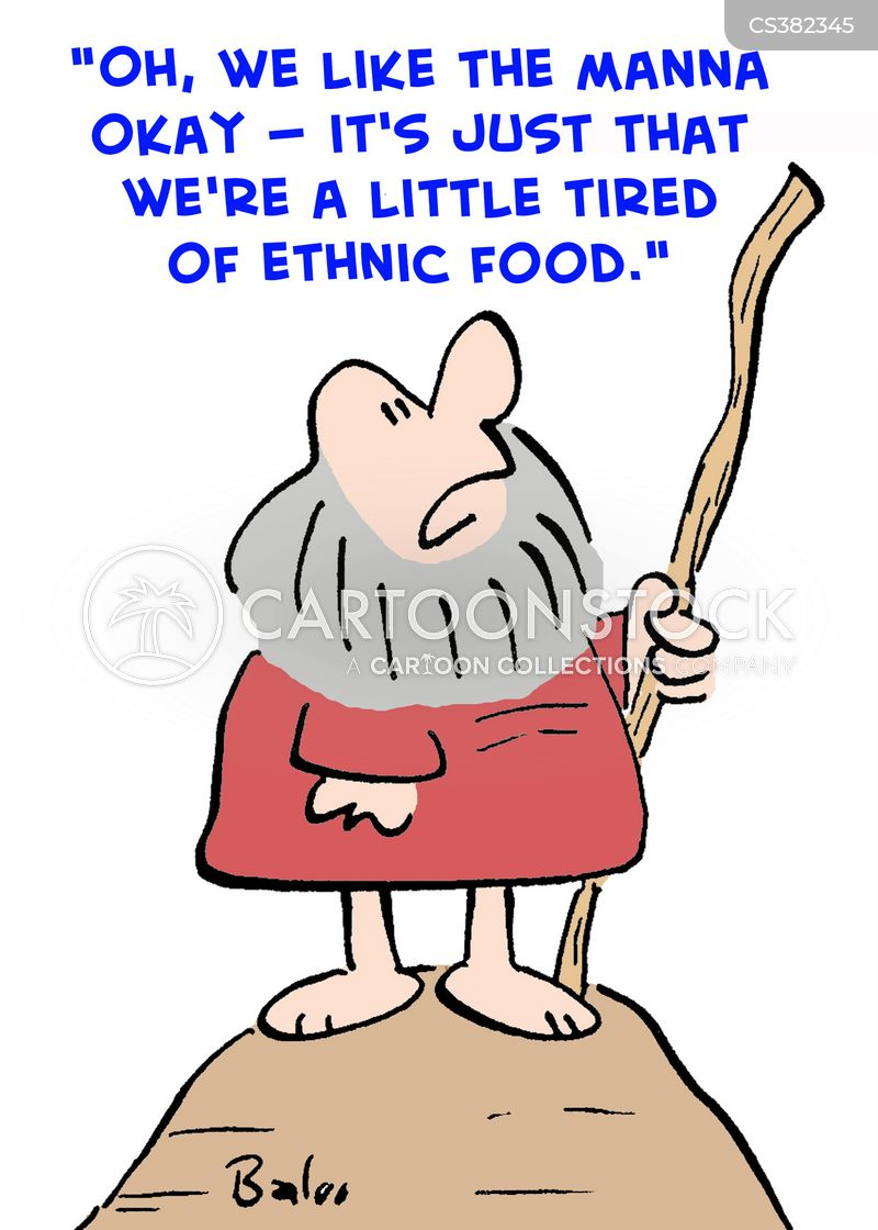 ethnic food cartoon