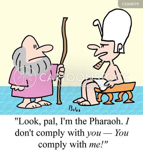 complying cartoon
