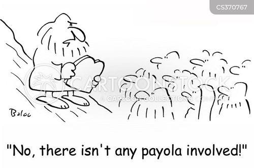 payola cartoon