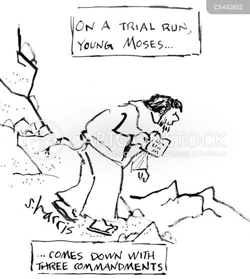 trial run cartoon